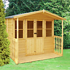 more details on Homewood Houghton Wooden Summerhouse with Canopy 7 x 7ft.