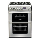 more details on Hotpoint CH60DPXFS Dual Fuel Cooker - S Steel/Ins/Del/Rec.