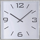 more details on Heart of House Jermyn Silver Square Wall Clock.