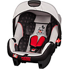 more details on Disney Micky Mouse Beone Infant Carrier - Black and Grey.