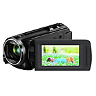 more details on Panasonic HCV250 Full HD Camcorder - Black.