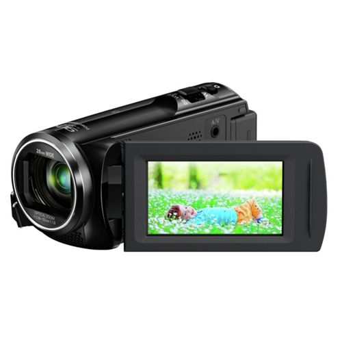 Panasonic HC-V250 Full HD Camcorder with 90x Intelligent Zoom - Black