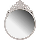 more details on Heart of House Louisa Rococo Wall Mirror - Ivory.