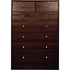 more details on New Malibu 5+2 Drawer Chest - Wenge Effect.