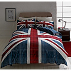 more details on Check Union Jack Multicoloured Bedding Set - Double.