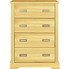 more details on Mendoza 4 Drawer Chest - Pine.