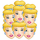 more details on Disney Princess Cinderella Pack of 6 Masks.