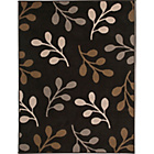 more details on Honeysuckle Rug - 160 x 120cm - Chocolate.