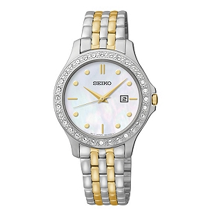 Seiko Stainless Steel Womens Watch