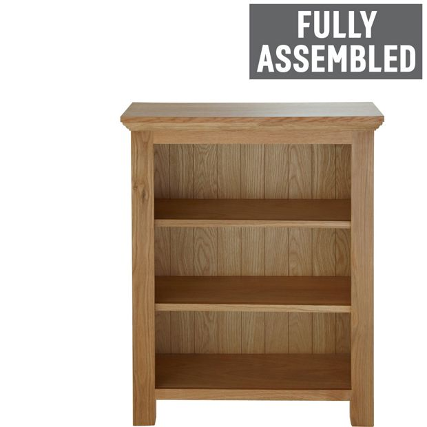 Buy collection knightsbridge small bookcase oak oak veneer at your online shop - Small space bookshelf collection ...