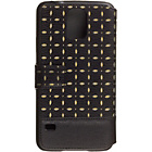 more details on Guess Gianina Samsung Galaxy S5 Booklet Case - Black.