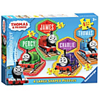 more details on Ravensburger Thomas the Tank 4 Large Shaped Puzzles.