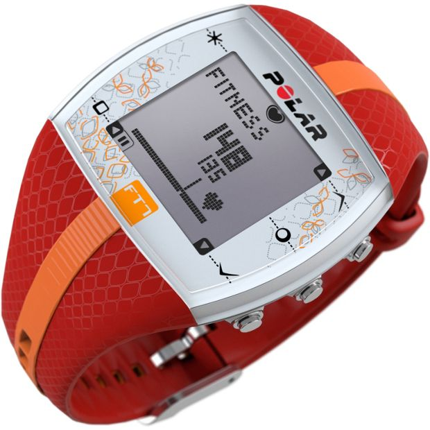 Buy Polar Ft7f Heart Rate Monitor Fitness Watch Red And