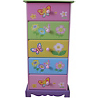 more details on Liberty House Toys Butterfly Garden 5 Drawer Storage.