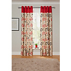 more details on Honeysuckle Curtains - 168x229cm - Red.