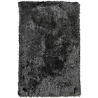 more details on Heart of House Bliss Deep Shaggy Rug 170x110cm - Charcoal.