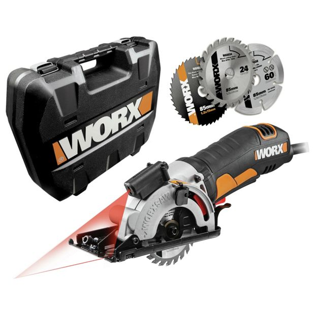 buy worx mini circular plunge worxsaw 400w at your online shop for saws diy. Black Bedroom Furniture Sets. Home Design Ideas