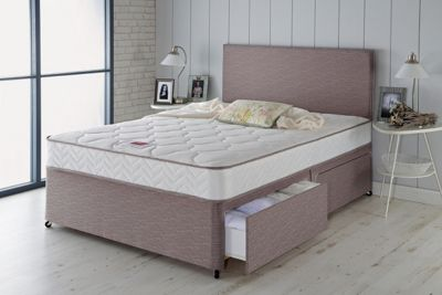 Airsprung Alana Memory Small Double 4 Drawer Divan Bed