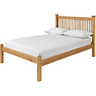 more details on Adele Small Double Bed Frame - Oak Stain.