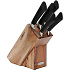 more details on Heart of House Oxley 5 Piece Acacia Wood Knife Block-Natural
