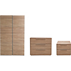 more details on Hygena Bergen 3 Piece Wardrobe Package - Oak Effect.