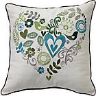 more details on Heart of House Juliette Cushion - Green.