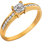 more details on 9ct Gold 0.33ct Diamond Ring.