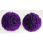 more details on Artificial Heather Topiary Grass Balls - Pack of 2.