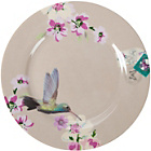 more details on Accessorize Set of 4 Taupe Cake Plates