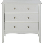 more details on Amelie 3 Drawer Chest - White.