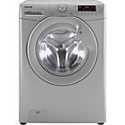 more details on Hoover DYNS7144D1S 7KG 1400 Spin Washing Machine - Silver.