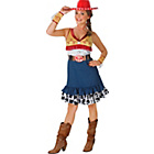 more details on Fancy Dress Toy Story Jessie Costume - Size 8-10.