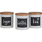 more details on Heart of House Set of 3 Chalk Board Storage Jars.