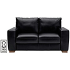 more details on Heart of House Eton Regular Leather Sofa - Black.