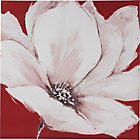 more details on Heart of House Camilla Red Painted Floral Canvas.