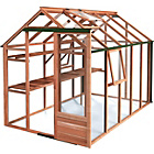 more details on Growhouse Classic Cedar Greenhouse - 6 x 10ft.