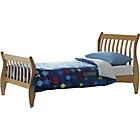 more details on Harry Sleigh Pine Single Bed Frame with Bibby Mattress.