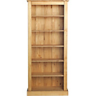more details on Tall Wide Extra Deep Bookcase - Solid Pine.