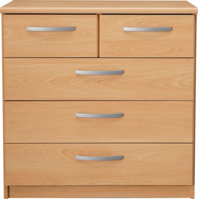 Buy Collection New Hallingford 3 2 Drawer Chest Beech