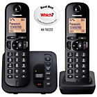 more details on Panasonic KXTGC222E Cordless Telephone/Answer M/c. - Twin.