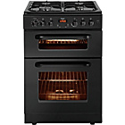 more details on Bush BDFT60B Single Dual Fuel Cooker - Black/Exp Del.