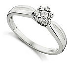 more details on 9ct White Gold 0.25ct Diamond Solitaire Ring.