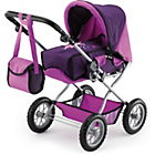 more details on Bayer Combi Grande Doll's Pram - Purple.
