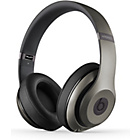 more details on Beats by Dre Studio Wireless Headphones - Titanium.