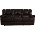 more details on Collection Diego Large Leather Sofa - Chocolate.