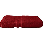 more details on Heart of House Egyptian Single Bath Sheet - Cranberry.