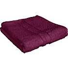 more details on Heart of House Egyptian Single Hand Towel - Plum Purple.