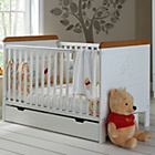 more details on Winnie the Pooh Deluxe Cot Bed and Under Drawer - White/Pine