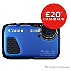 more details on Canon Powershot D30 Action Camera - Blue.