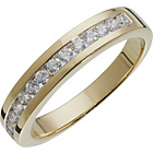 more details on 18ct Gold Plated Silver Cubic Zirconia Eternity Ring.